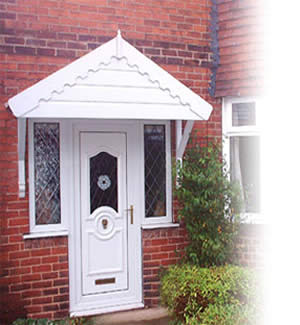 Supreme PVCu Door Canopy  sc 1 th 234 & Mossley Canopies Ltd - Hardwood and PVC-u Door Canopies